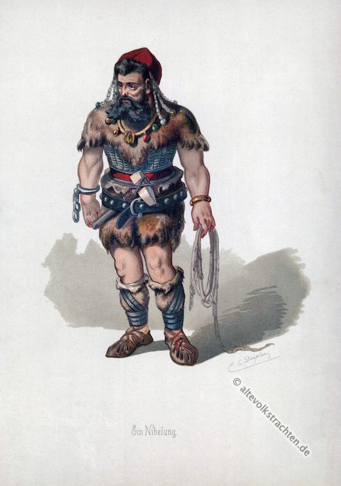 Nibelung, Rheingold, Nibelungen, Richard Wagner, Kostüm, Oper