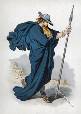 Wotan, Odin, Wanderer, Kostüm, Rheingold, Nibelungen