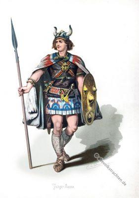 Ritter, Burgunde, Krieger, Rheingold, Nibelungen, Richard Wagner, Kostüm, Oper