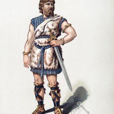 Siegmund. Kostümentwurf für Der Ring des Nibelungen. Das Rheingold.