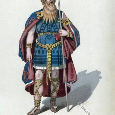 Wotan. Der Ring des Nibelungen. Kostüm Entwurf.