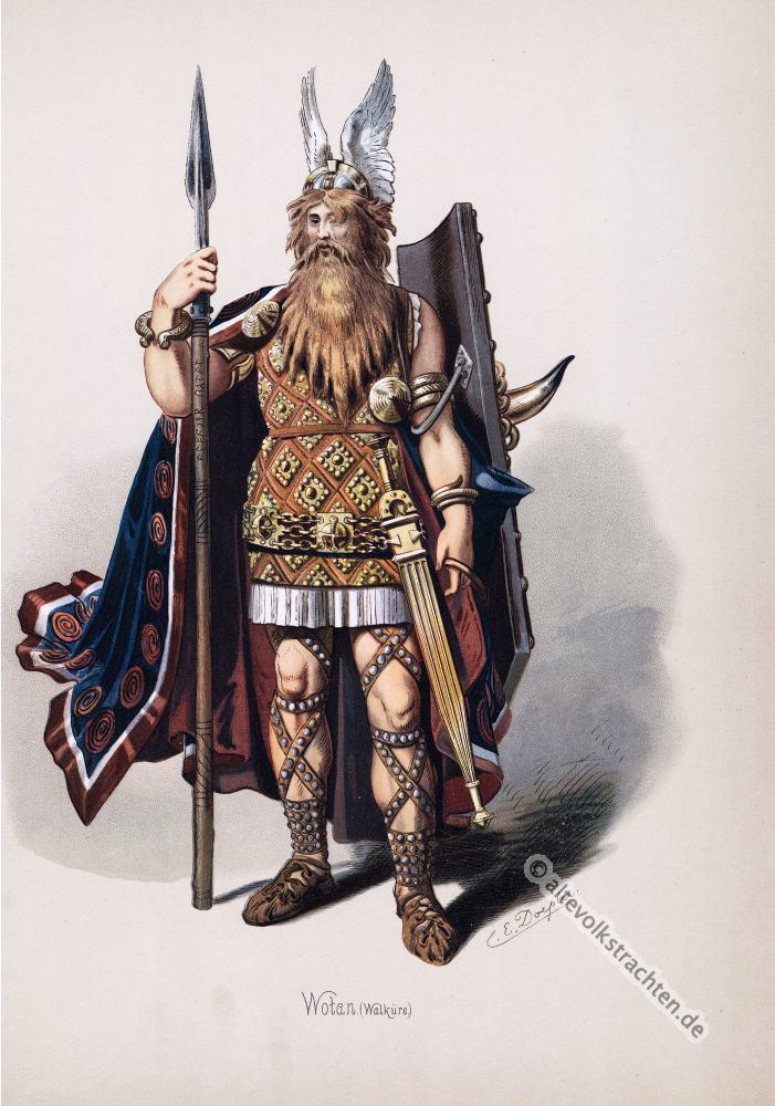 Wotan, Odin, Rheingold, Nibelungen, Richard Wagner, Kostüm, Oper