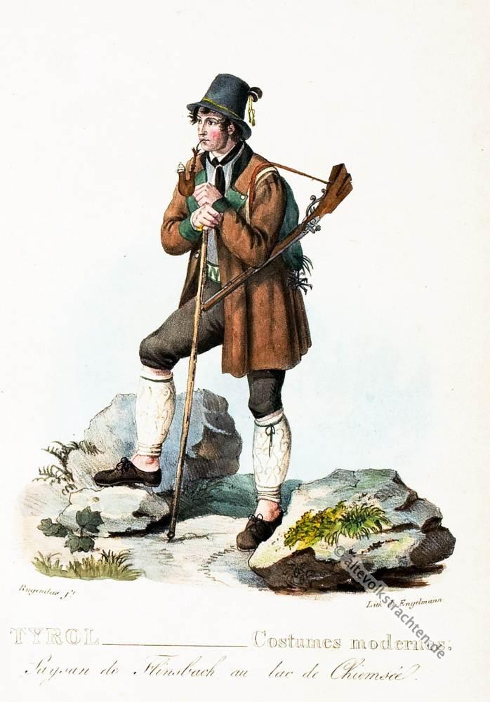Flintsbach, Chiemsee, Jäger, Oberbayern, Trachten