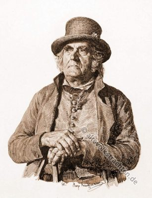 Brautvater, Bauernhochzeit, Trachten, Bayern, Bauernstube, Brautwerbung, Hugo Kaufmann