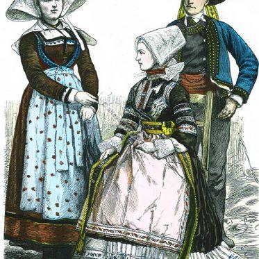 Bretagne. Land und Leute aus alten Quellen.