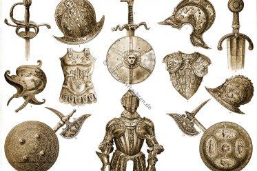 Rüstungen, Waffen, Mittelalter, Renaissance, Barock, Antike, Militaria, Militär
