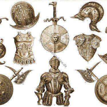 Waffen und Rüstungen der Renaissance im 16.Jh.