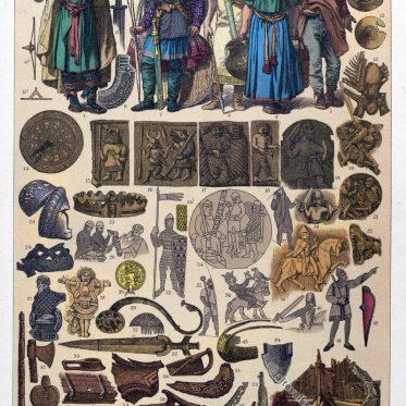 Kleidung der Skandinavier im Mittelalter