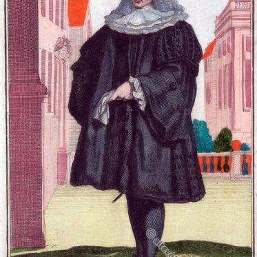 Ratsherr aus Nürnberg zu Beginn des 18. Jhdt.