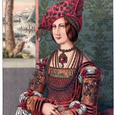 Bianca Maria Sforza. Deutsche Kaiserin. Renaissance.