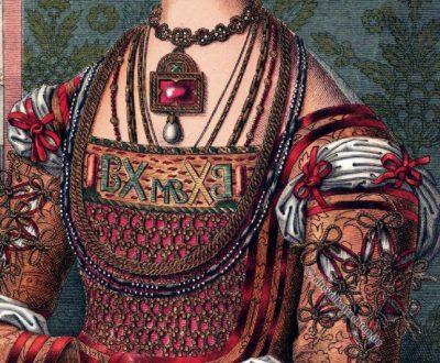 Bianca Maria Sforza, Hans Holbein, Renaissance Kleid, Modegeschichte, Deutsche Kaiserin