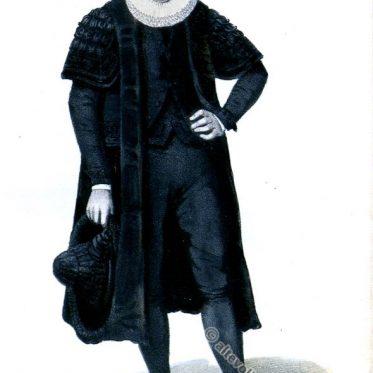 Hamburger Bürgermeister in Amtstracht um 1847