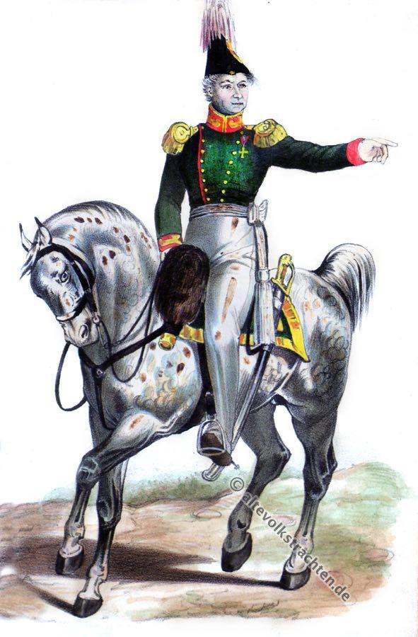 Hamburg, Oberst, Bürgermilitär, Uniform, Kostümgeschichte