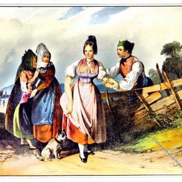 Kreis Ober-Manhartsberg Niederösterreich 1842