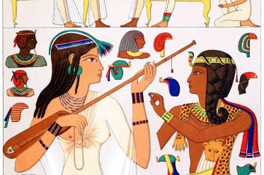 Ägypten, Antike, Kostümgeschichte, Modegeschichte, Auguste Racinet