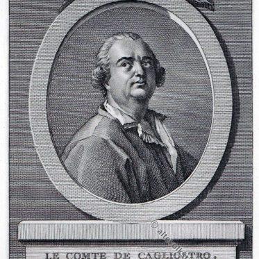 Giuseppe Balsamo, genannt Alessandro Graf Cagliostro.