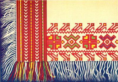 Kopftuch, gewebt, Serbien, Modegeschichte, Kostümgeschichte, Felix Lay, Kumodraž
