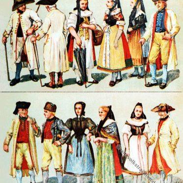 Volkstrachten aus Braunschweig