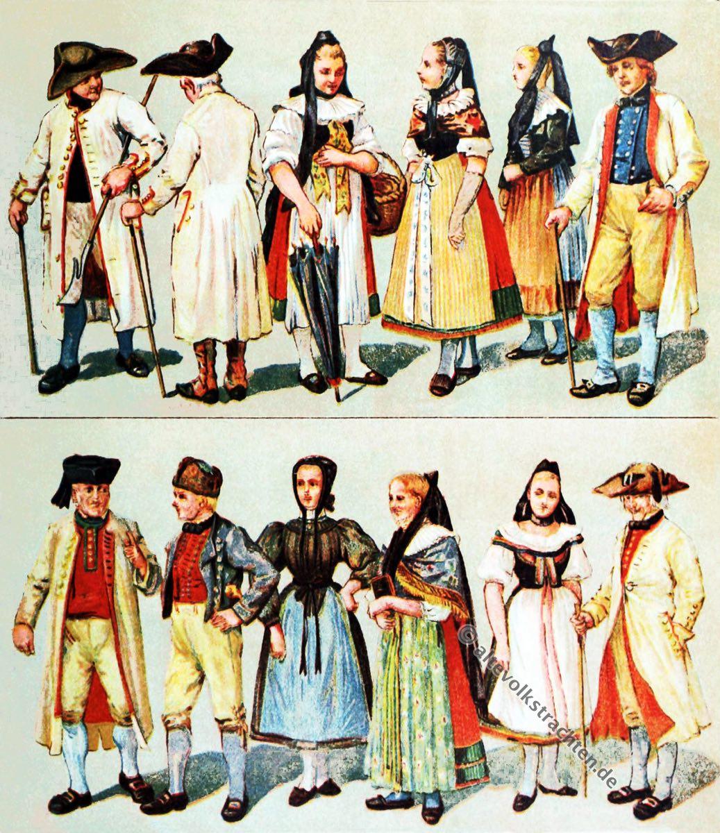 Bortfeld, Groß-Denkte, Wolfenbüttel, Braunschweig, Schäfer, Tracht, Trachten, Kostümkunde, Volkstrachten, Bauertrachten, Modegeschichte, Kostümgeschichte, historische Kleidung