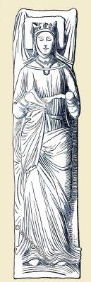 Eleonore von Aquitanien, Königin, Mittelalter, England, Frankreich, Fontevrault