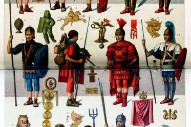 Gladiatoren, triarii, impediti, eques, Centurio, phaleratus, Militärtribun, Caesar, imperator, signifer, vexillarius, Gladiatoren, Gladiator, mirmillo, hoplomachos, retiarius, Gladiator, August Razinet