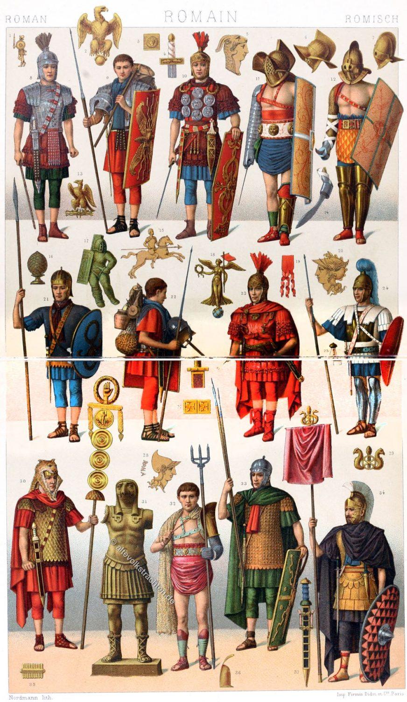 Gladiatoren, Legionäre, Bewaffnung, Antike, Rom, Römer
