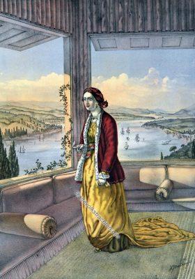 Armenierin, Dame, Armenien, Armenische Trachten, Osmanisches Reich, Historische Kleidung, Türkei, Kostümgeschichte