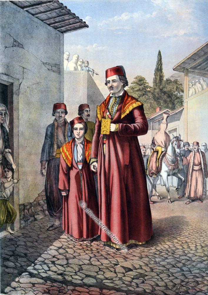 Heiratsprozession, Armenien, Armenische Trachten, Osmanisches Reich, Historische Kleidung, Türkei, Kostümgeschichte