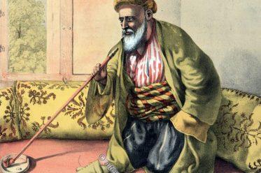 Effendi, Osmanische Trachten, Osmanisches Reich, Historische Kleidung, Türkei, Kostümgeschichte