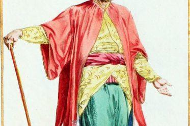 Çorbacıbaşı, Janitschar, Janissary, Osmanisches Reich, Kostüm, Kostümgeschichte, Modegeschichte,