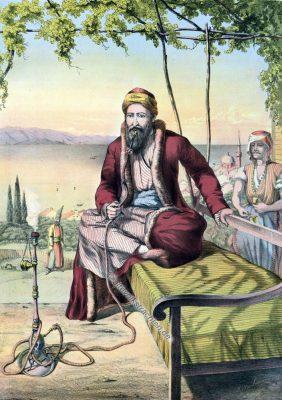 Jüdischer Kaufmann, Jude, Jüdische Trachten, Osmanisches Reich, Historische Kleidung, Türkei, Kostümgeschichte