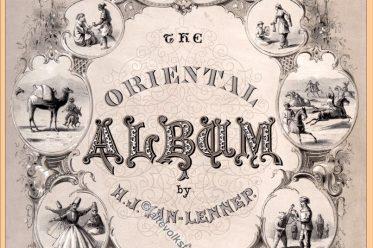 Orientalische Album, Trachten, Türkei, Osmanisches Reich, Kostümgeschichte, Van-Lennep, Henry J.