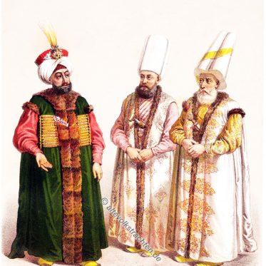 Kostüme des osmanischen Hofes von Jean Brindesi.