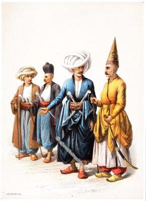 Salma Neferi, Nobetchi, Hasseki Aga, Elbicei Atika, Illustrator, Jean Brindesi, Graveur, Jules Mea, Constantinople, Konstantinopel, Kostüme, Kostümgeschichte