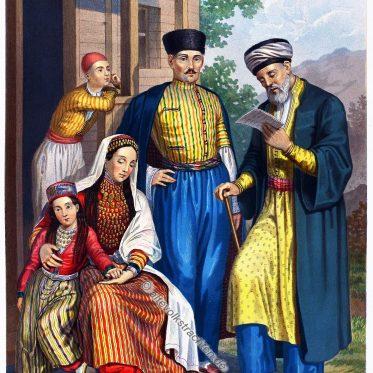 Krimtataren. Die Völker Russlands um 1861.