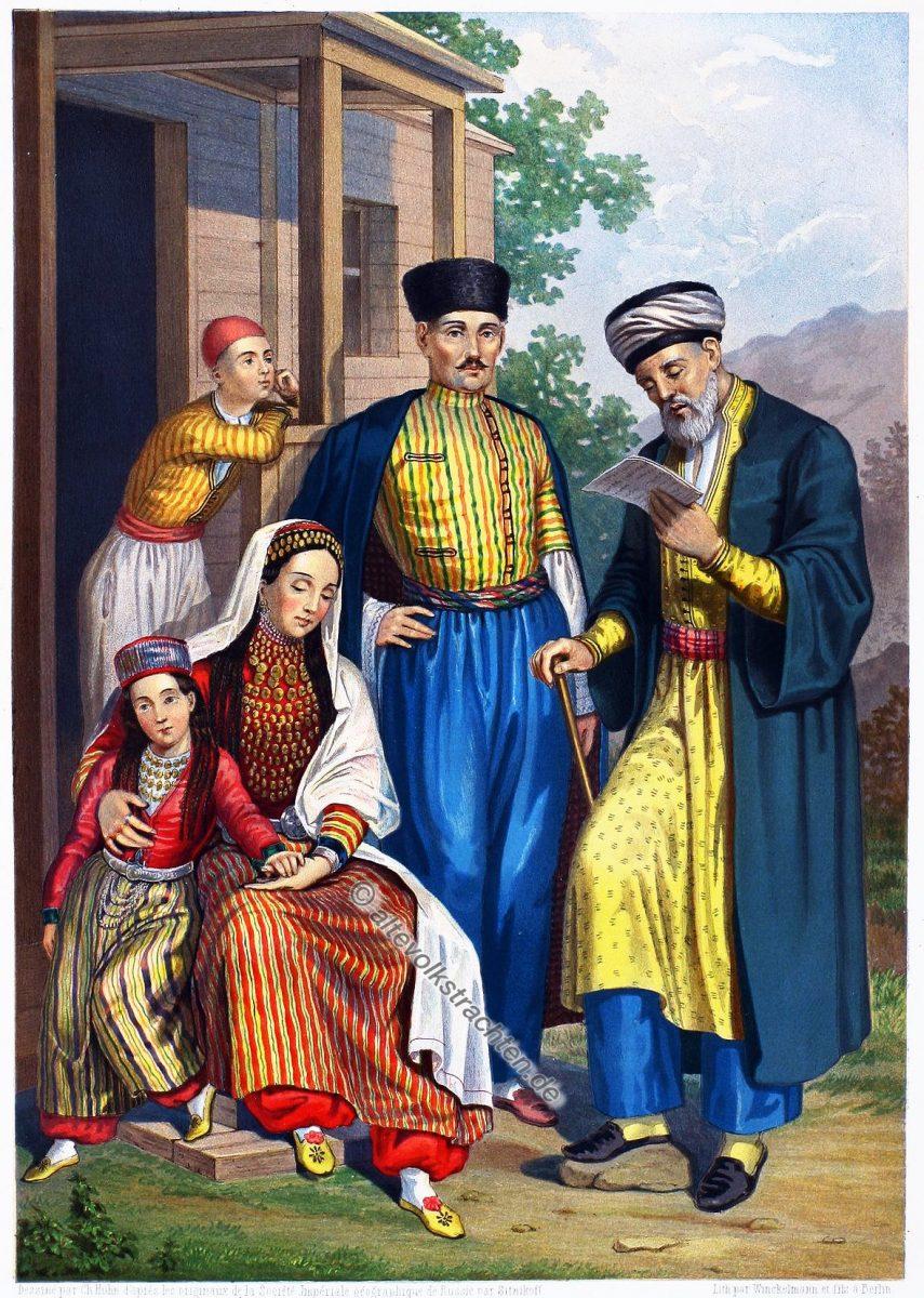 Die Krimtataren. Yaliboylu, Nogai-Tataren, Ortajulak, Tats