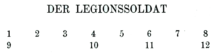 Legionssoldat, Legionär, Auguste Racinet