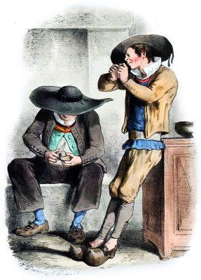 Elven, Trachten, Bretagne, Alexandre Leroux, Alfred Darjou, FRankreich