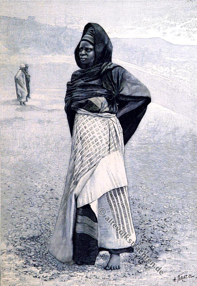 Nupe, Nigeria, Afrika, Tracht