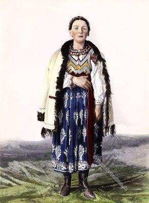 Slowakei, Tracht, Kriván, Region, Historische Kleidung, Kostümkunde