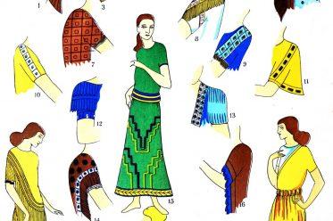 Assyrien, Mesopotamien, Kostüme, Ärmelformen, Verzierungen, Trachten, Antike, Kostümgeschichte, Paul Louis de Giafferri