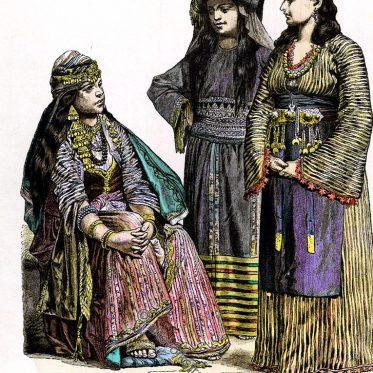 Fellahin, Frau von Mekka, Frau aus Damaskus