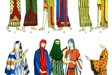 Assyrien, Mesopotamien, Kostüme, Kleider, Trachten, Antike, Kostümgeschichte, Paul Louis de Giafferri