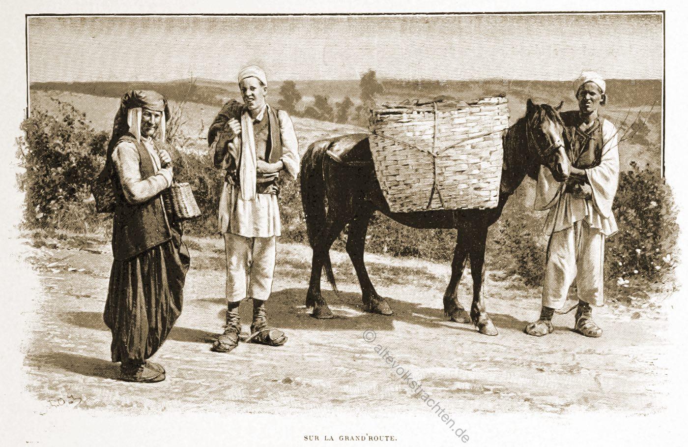 Bauern, Trachten, Maglaj, Sarajevo, Bosnien, Guillaume Capus, Reiseliteratur, Balkan