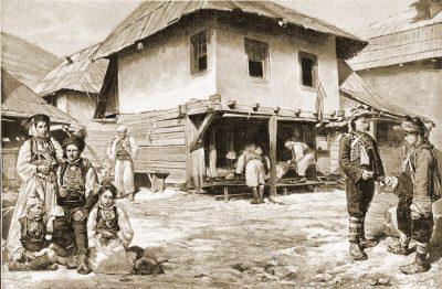 Bauern, Markt, Trachten, Bosnien, Guillaume Capus, Reiseliteratur, Balkan