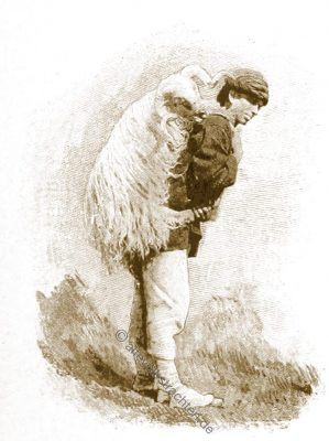 Schafhirte, Trachten, Bosnien, Herzegowina, Guillaume Capus, Reiseliteratur, Balkan