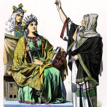 Karolingische Königin. Prophetin. Trauzeugin der Kaiserin.
