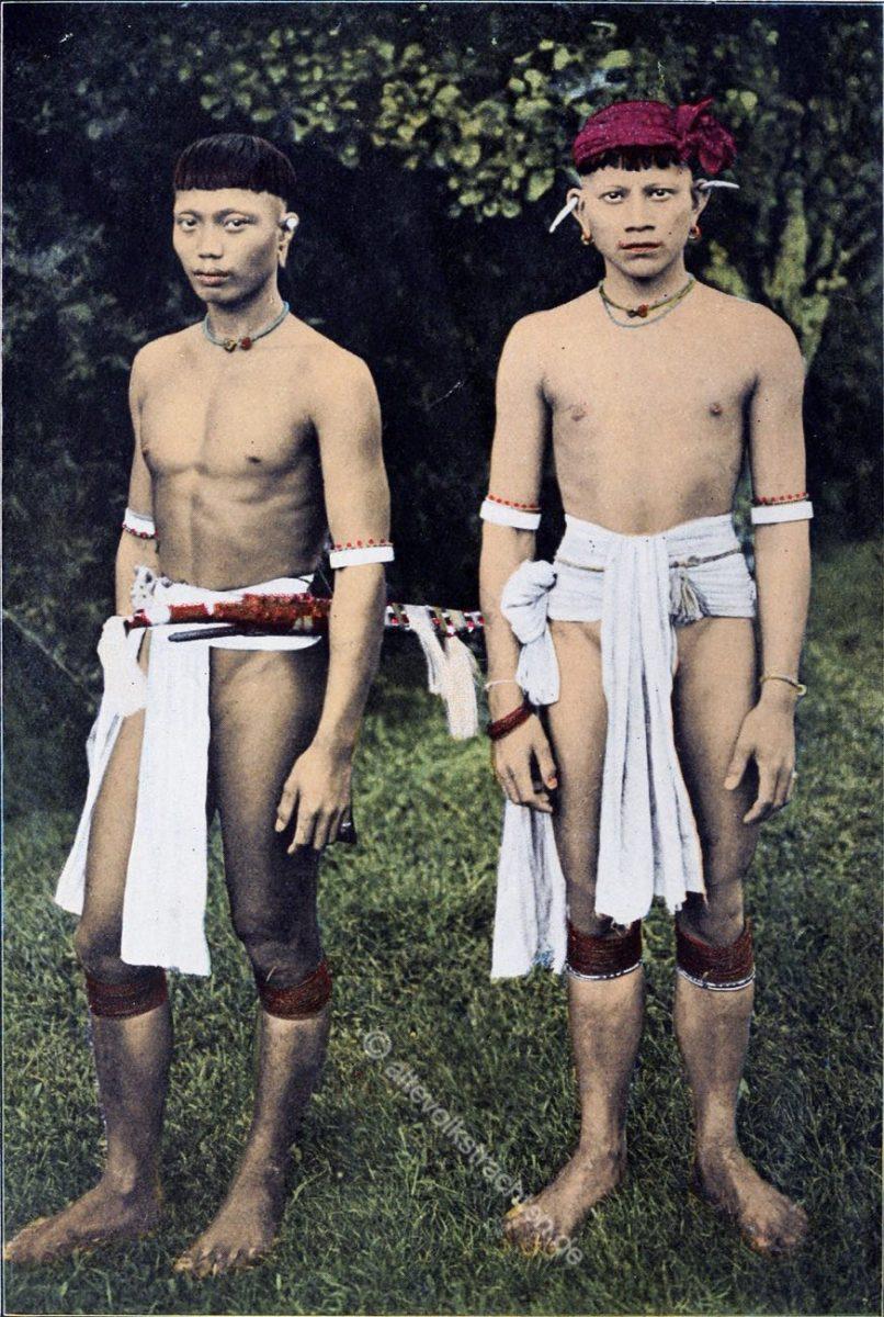 Kayan, Häuptling, Krieger, Borneo, Kopfjäger, indigen,