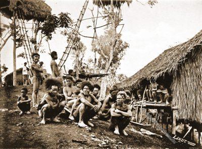 Stammesführer, Häuptlinge, Koiari, Papua-Neuguinea,