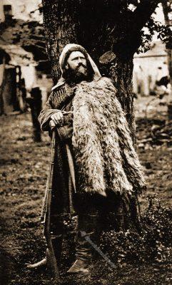 Kuban-Kasak, Kosake, Trachten, Transkaukasien, Kaukasus, Roderich von Erckert, Kostümkunde